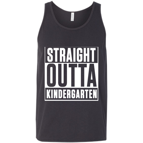 Straight Outta Kindergarten  Bella +Canvas Unisex Tank - TeachersLoungeShop - 5