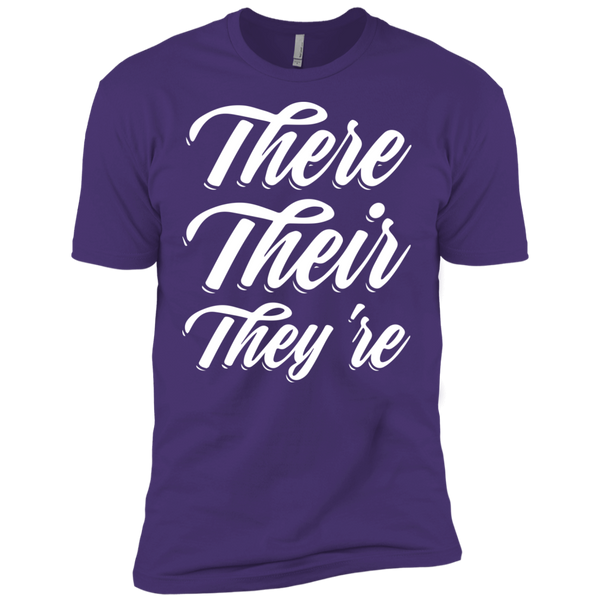 They Their They're  Next Level Premium Short Sleeve Tee - TeachersLoungeShop - 8