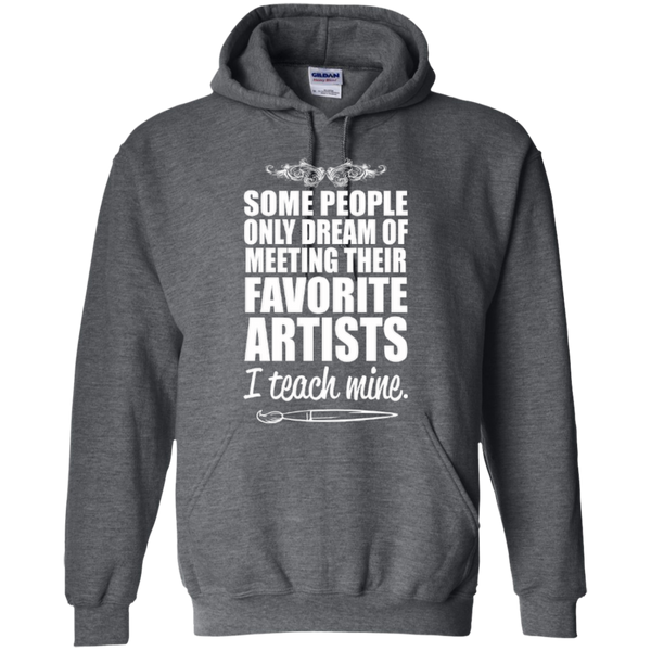 Favourite Artists i Teach Mine Hoodie - TeachersLoungeShop - 3