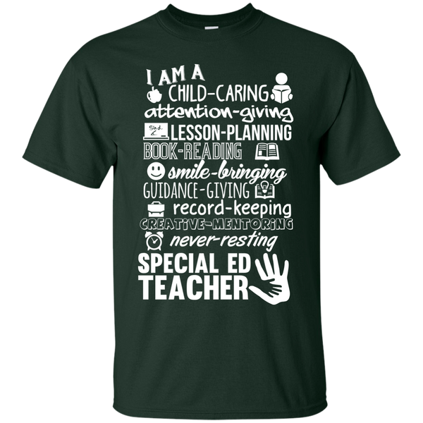 I am Special Ed teacher poems  T-Shirt