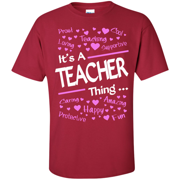 It's a Teacher Thing Cotton T-Shirt - TeachersLoungeShop - 5