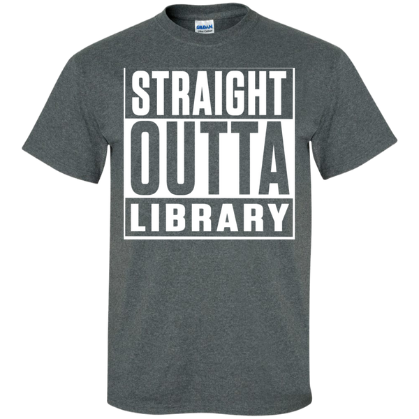 Straight Outta Library T-Shirt - TeachersLoungeShop - 10