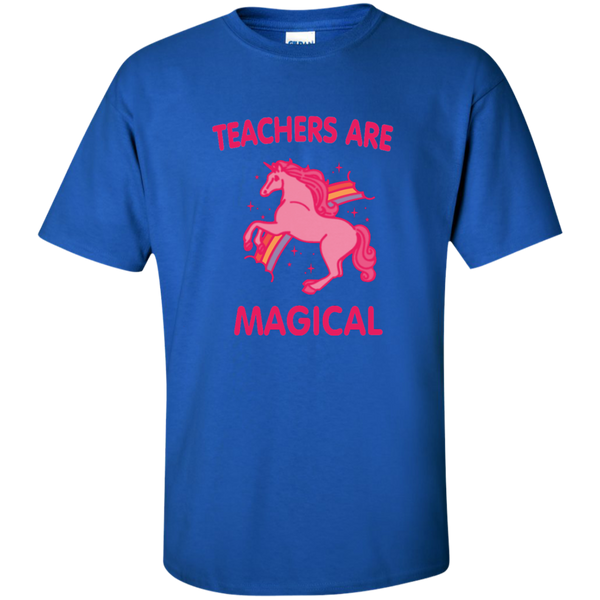 Teachers are Magical Cotton T-Shirt - TeachersLoungeShop - 7