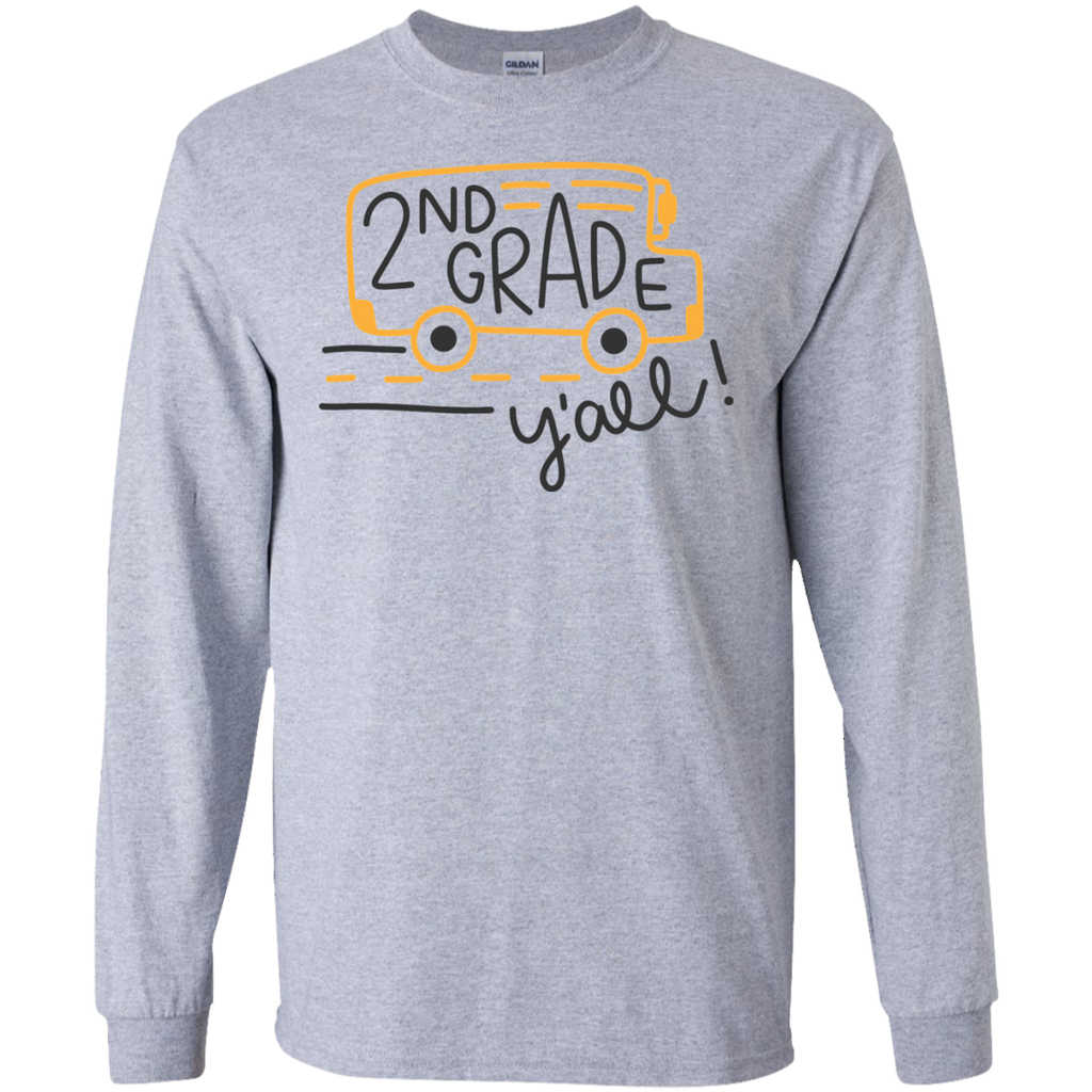 2nd Grade   Y'all  LS   T-Shirt