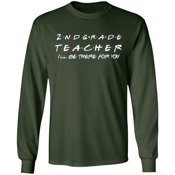 2nd Grade Teacher LS T-Shirt