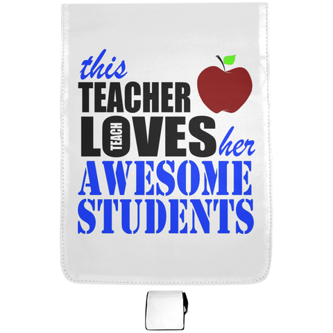 This Teacher Loves her awesome Students  Medium Shoulder Bag