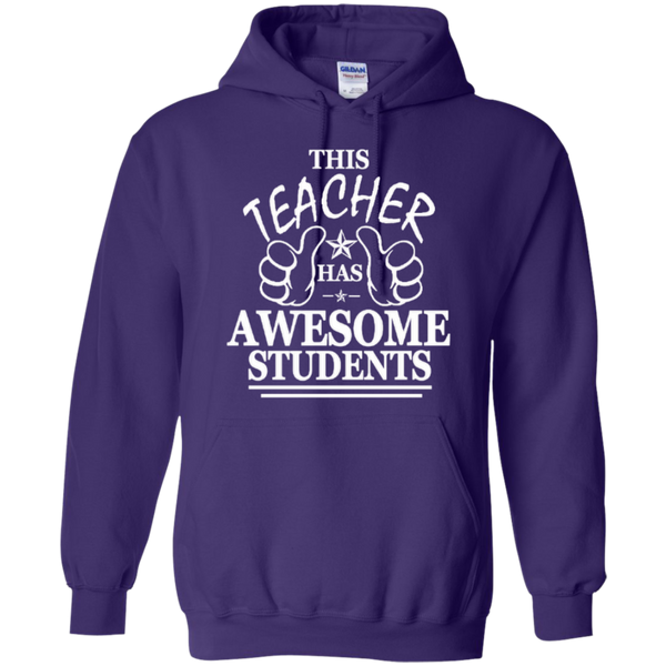 This Teacher has Awesome Students T-shirt Hoodie - TeachersLoungeShop - 10