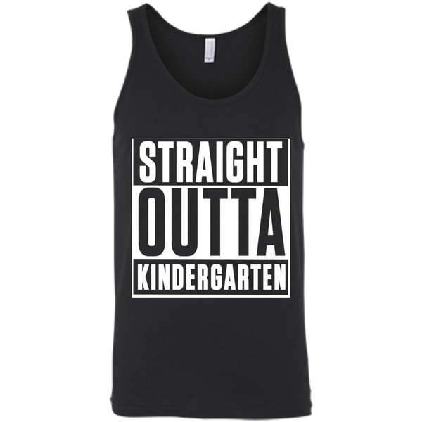 Straight Outta Kindergarten  Bella +Canvas Unisex Tank - TeachersLoungeShop - 1