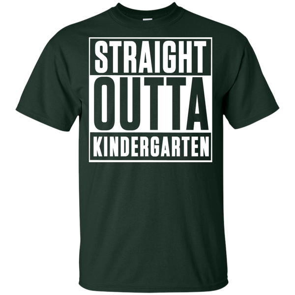 Straight outta Kindergarten  Gildan Youth Ultra Cotton T-Shirt