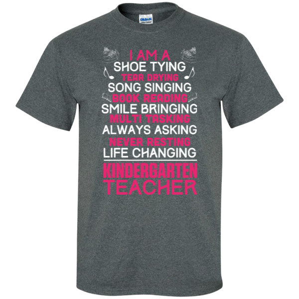I'm a Kindergarten Teacher  T-Shirt - TeachersLoungeShop - 7