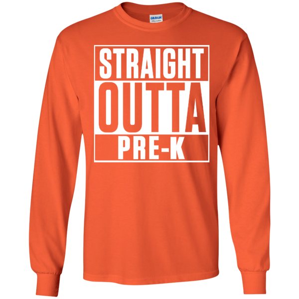 Straight Outta Pre-K    Ultra Cotton Tshirt - TeachersLoungeShop - 2