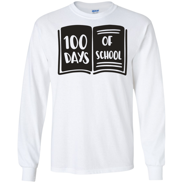 100 Days of school LS Tshirt