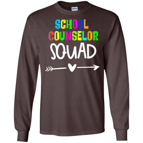 School Counselor  Squad . LS .  T-Shirt