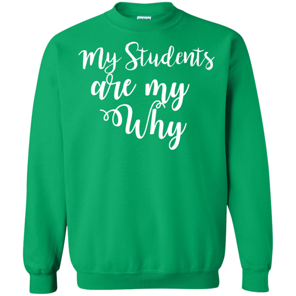 My Students are my why   Sweatshirt