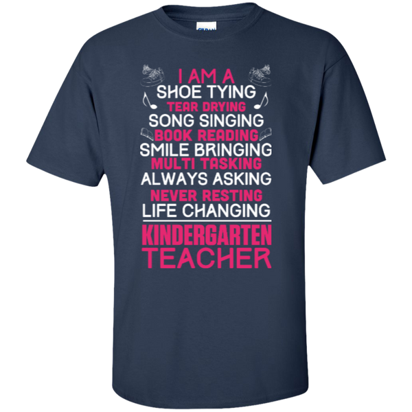 I'm a Kindergarten Teacher  T-Shirt - TeachersLoungeShop - 5