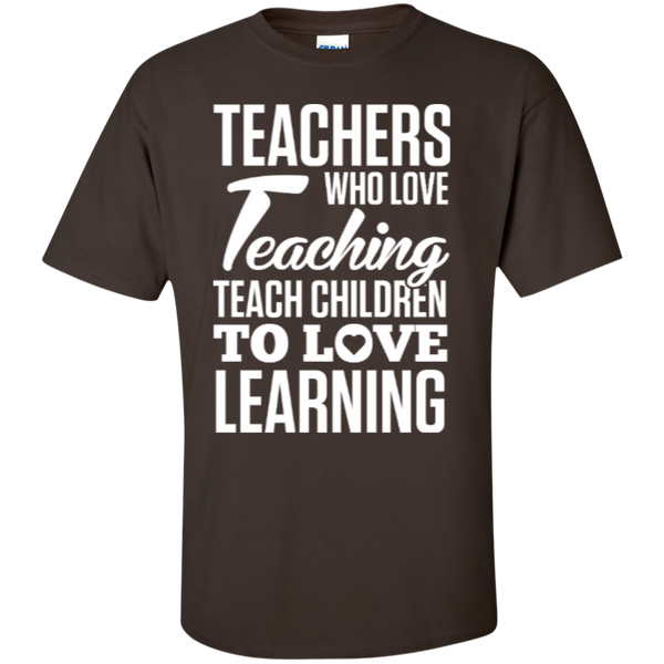 Teachers who love Teaching  T-Shirt - TeachersLoungeShop - 7