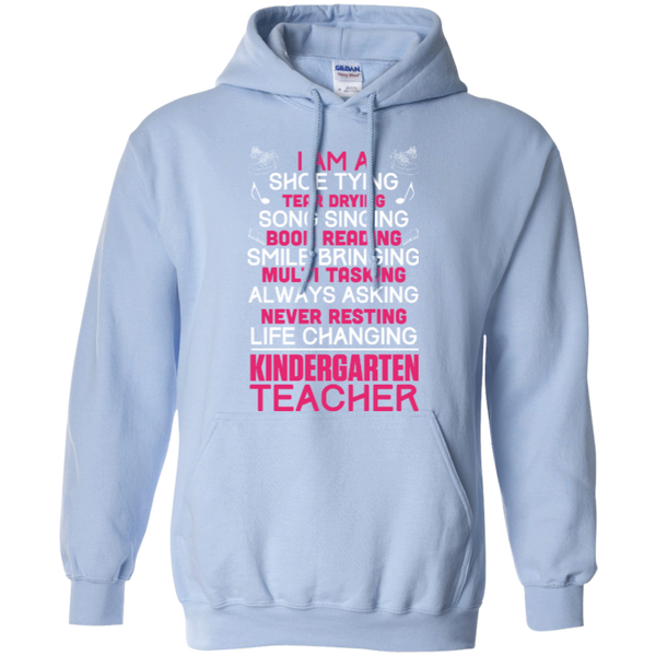 I'm a Kindergarten Teacher   Hoodie - TeachersLoungeShop - 7