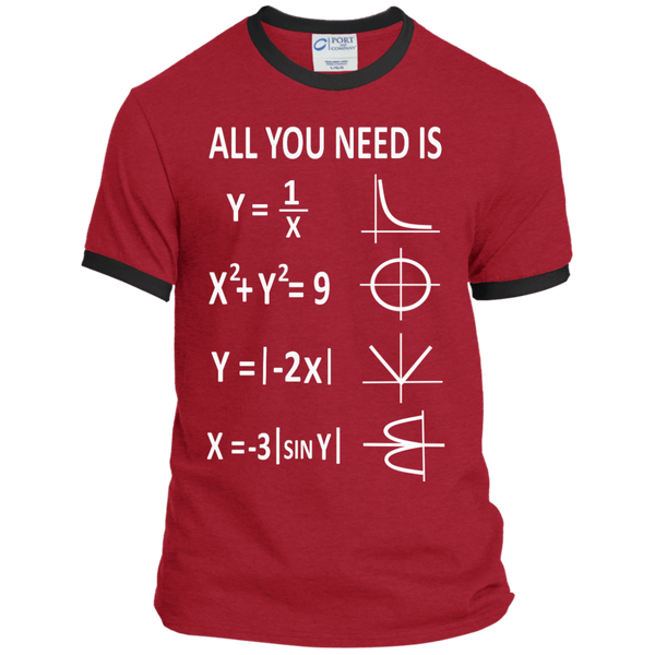 All You Need is Love Ringer Tee - TeachersLoungeShop - 7