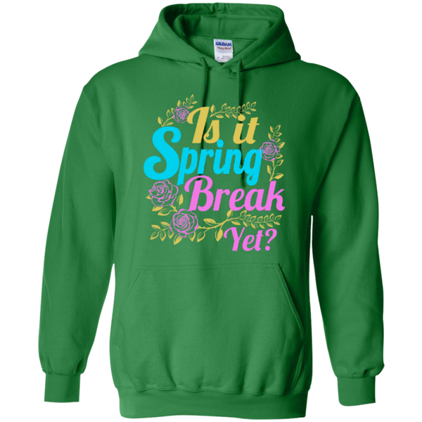 Is it Spring Break Yet Teacher T-shirt Hoodie - TeachersLoungeShop - 9