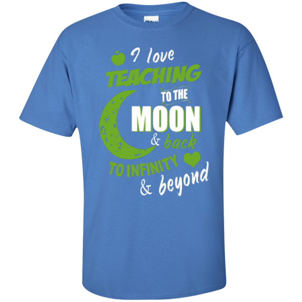 I Love Teaching to the Moon and Back to Infinity and Beyond Teacher T-shirt Hoodie - TeachersLoungeShop - 6