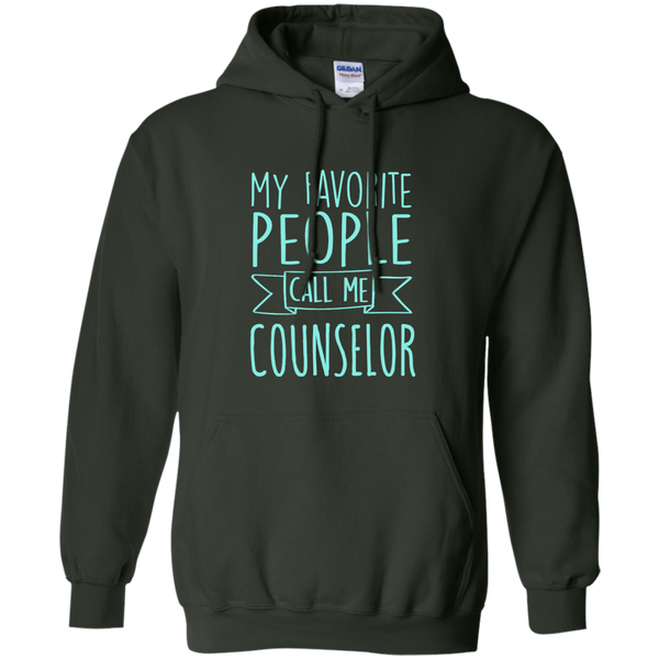 My Favorite People call Me Counselor Pullover Hoodie 8 oz - TeachersLoungeShop - 6