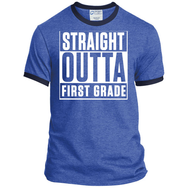 Personalized Ringer Tee - TeachersLoungeShop - 6