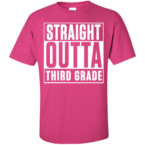 Straight Outta Third Grade   T-Shirt - TeachersLoungeShop - 4