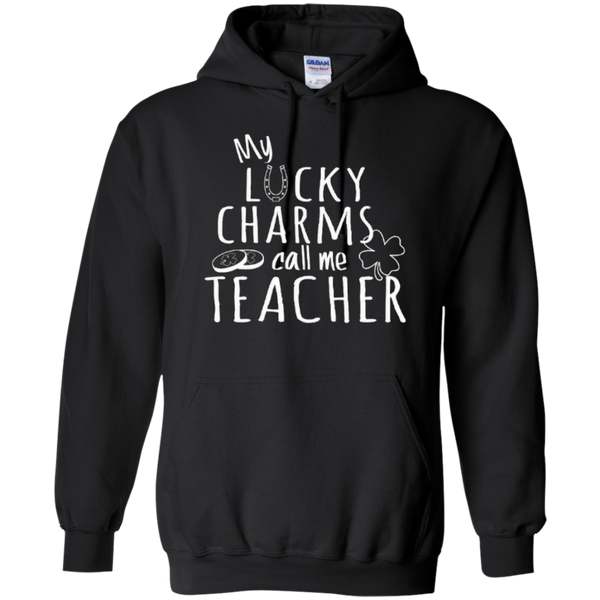 My Lucky Charms Call Me Teacher T-shirt Hoodie - TeachersLoungeShop - 6