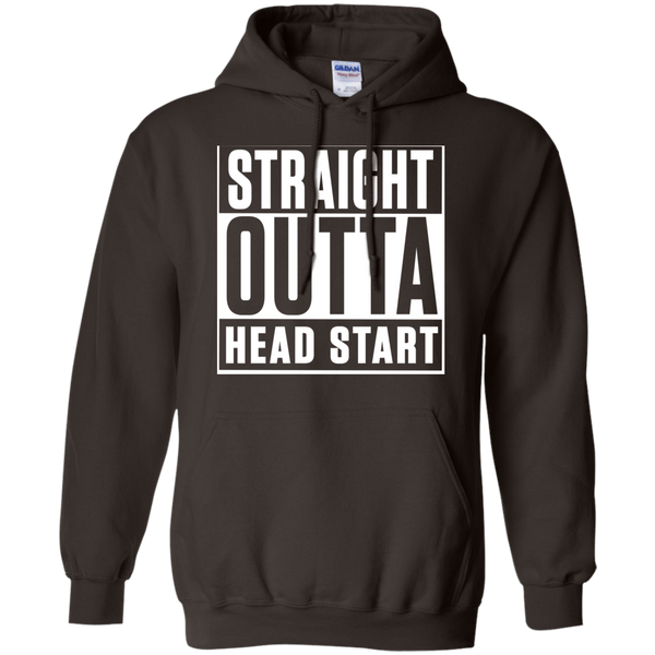 Straight Outta Head Start   Hoodie 8 oz - TeachersLoungeShop - 5
