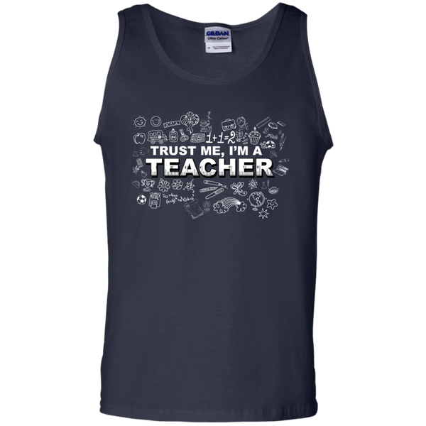 Trust me I'm a Teacher Tank Top - TeachersLoungeShop - 2