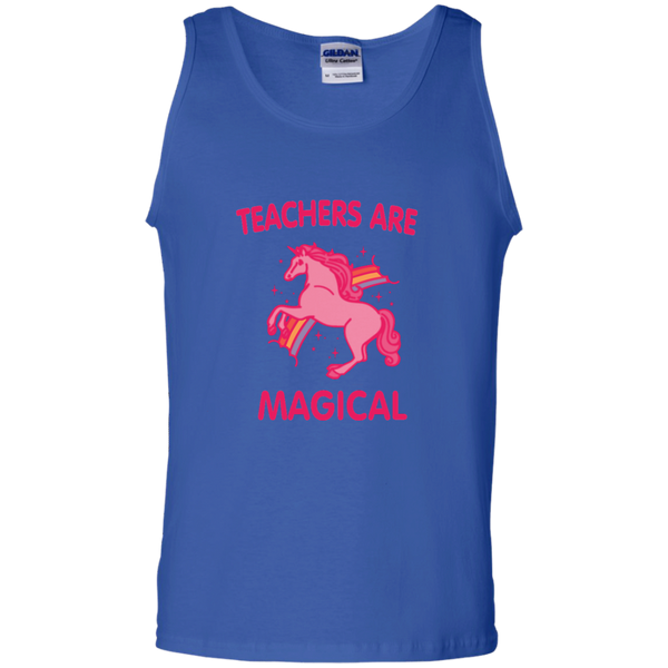 Teachers are Magical 100% Cotton Tank Top - TeachersLoungeShop - 4