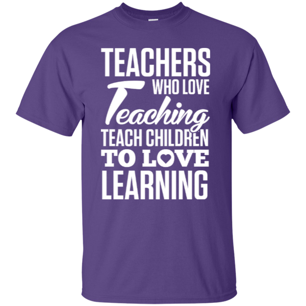 Teachers who love Teaching  T-Shirt - TeachersLoungeShop - 5