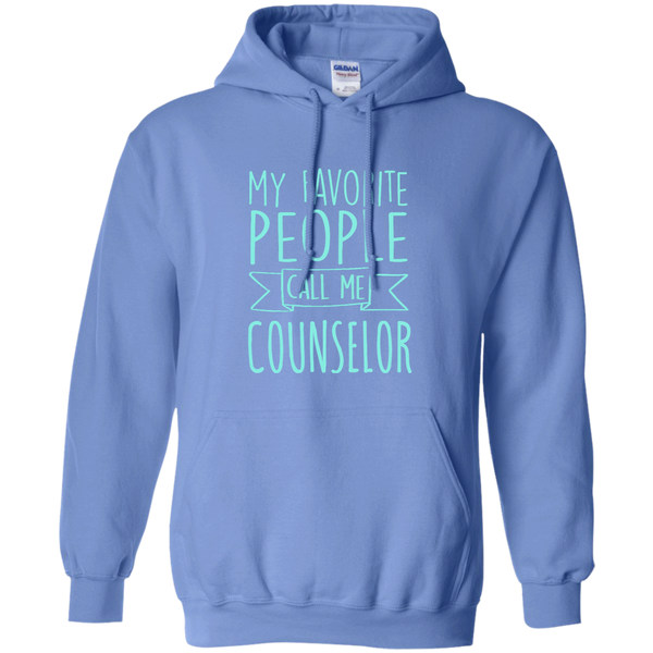My Favorite People call Me Counselor Pullover Hoodie 8 oz - TeachersLoungeShop - 4