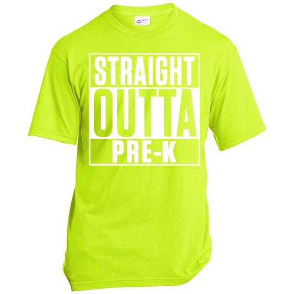 Straight Outta Pre-K   in the USA Unisex Tee - TeachersLoungeShop - 5