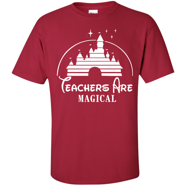 Teachers are Magical Cotton T-Shirt - TeachersLoungeShop - 4