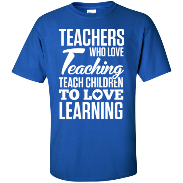 Teachers who love Teaching  T-Shirt - TeachersLoungeShop - 4