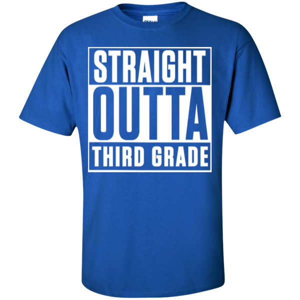 Straight Outta Third Grade   T-Shirt - TeachersLoungeShop - 6