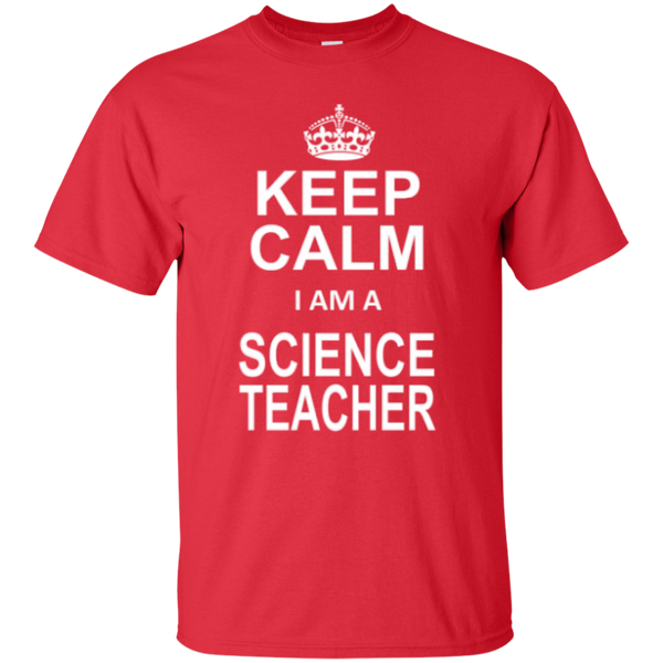 Keep Calm i'm a Science Teacher T-shirt Hoodie - TeachersLoungeShop - 2