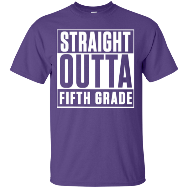 Straight Outta Fifth  Grade   T-Shirt - TeachersLoungeShop - 11