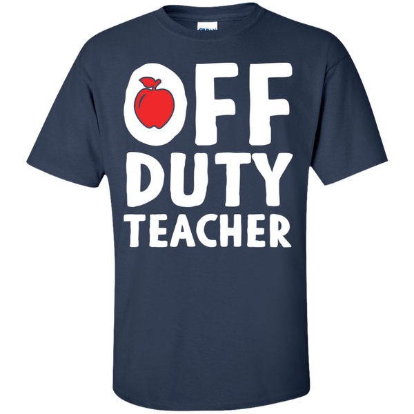 Off Duty Teacher T-Shirt - TeachersLoungeShop - 5