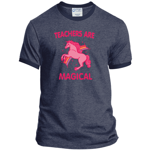 Teachers are Magical Ringer Tee - TeachersLoungeShop - 6