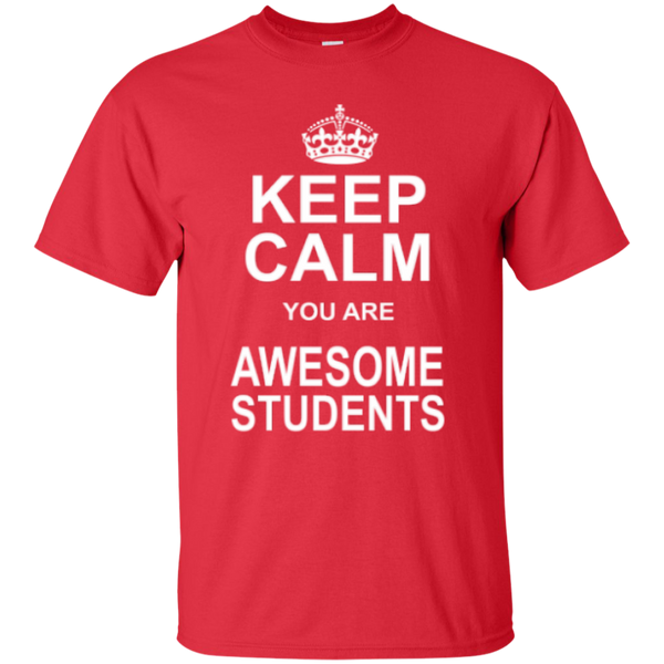 Keep Calm you are Awesome Students Teacher T-shirt Hoodie - TeachersLoungeShop - 2