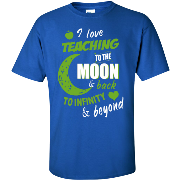 I Love Teaching to the Moon and Back to Infinity and Beyond Teacher T-shirt Hoodie - TeachersLoungeShop - 3
