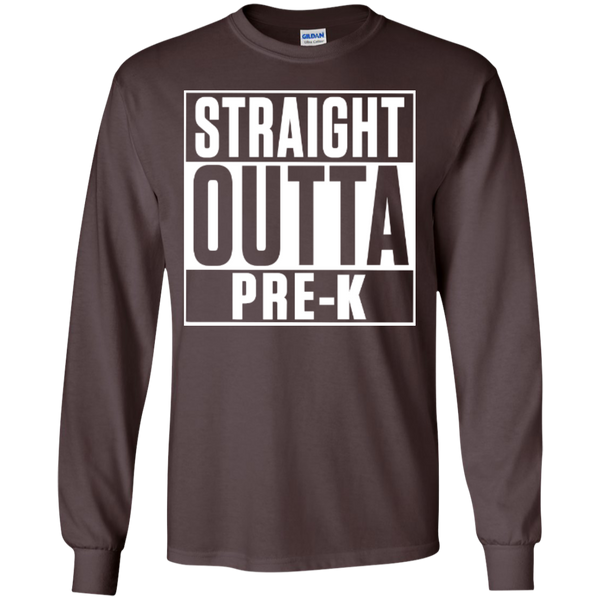 Straight Outta Pre-K    Ultra Cotton Tshirt - TeachersLoungeShop - 9