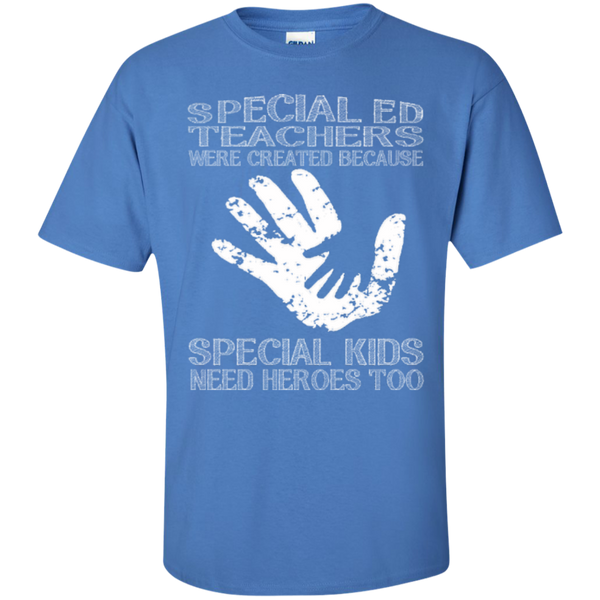 Special Ed Teachers are Created because Special Kids need Heroes T-shirt Hoodie - TeachersLoungeShop - 6