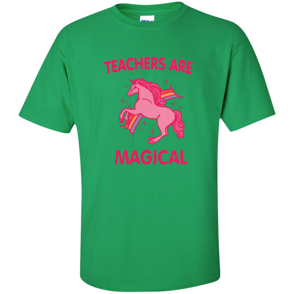 Teachers are Magical Cotton T-Shirt - TeachersLoungeShop - 3