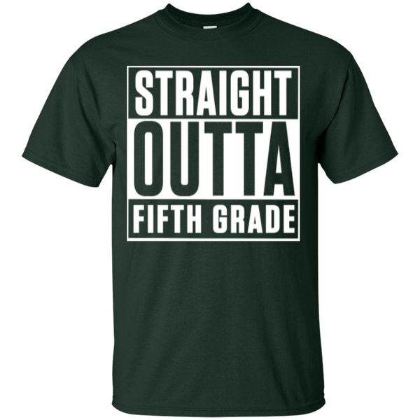 Straight Outta Fifth  Grade   T-Shirt - TeachersLoungeShop - 2