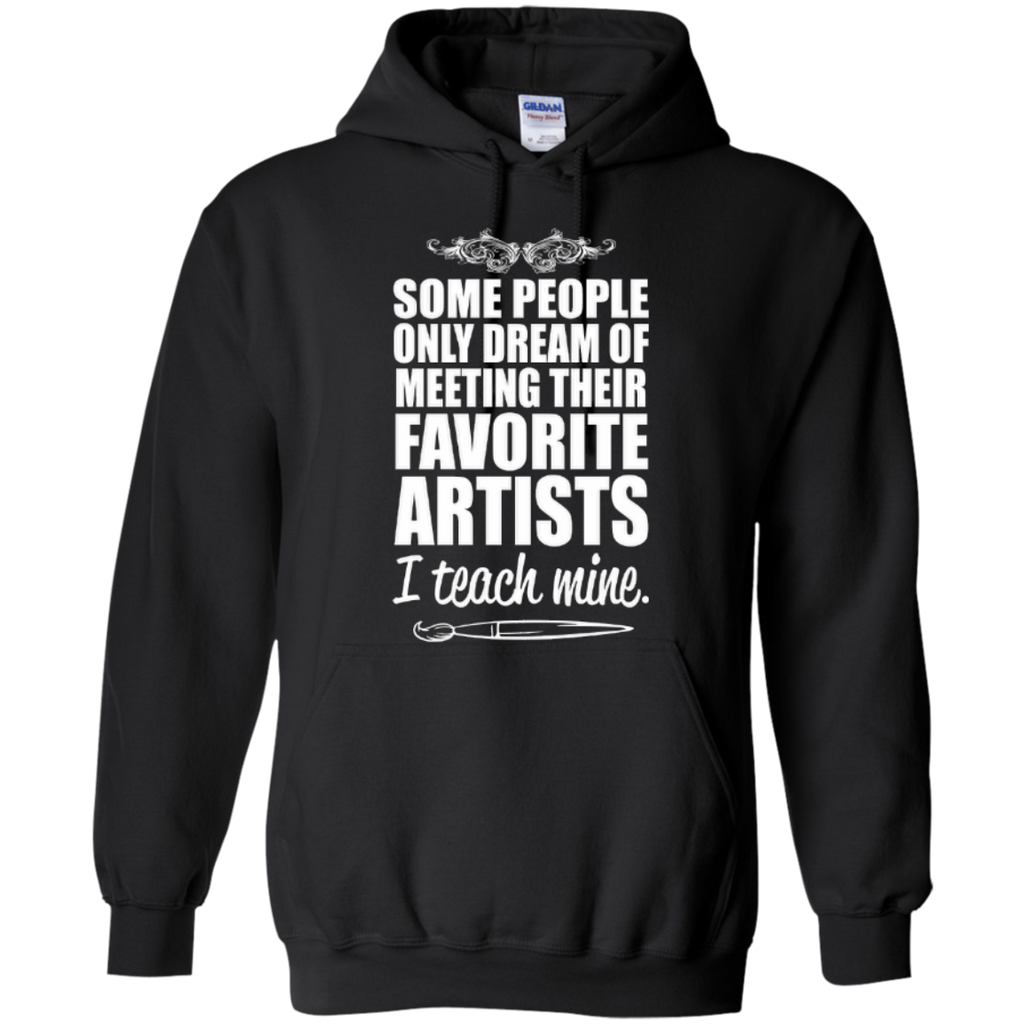 Favourite Artists i Teach Mine Hoodie - TeachersLoungeShop - 1