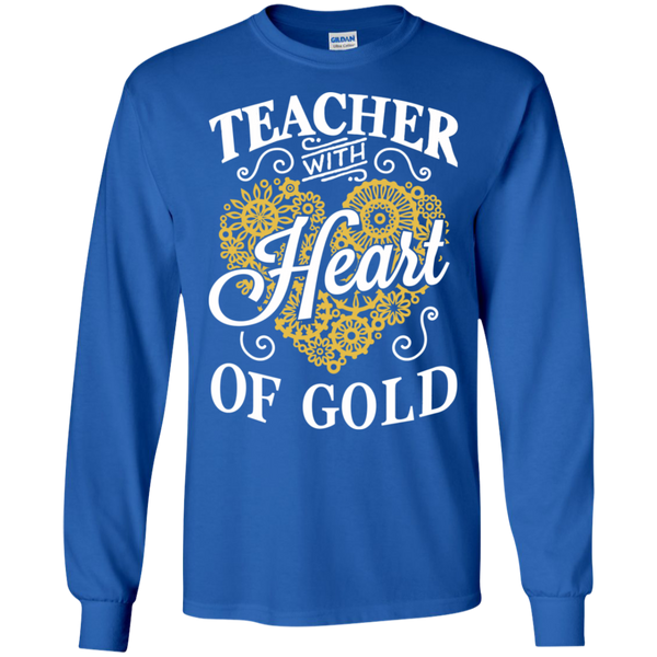 Teacher with Heart of Gold  Ultra Cotton Tshirt - TeachersLoungeShop - 5