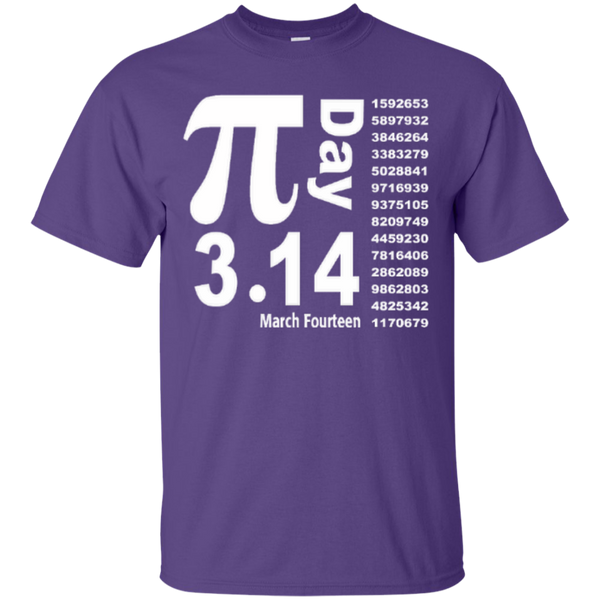 Teacher Math Pi Day March Fourteen 3.14 T-Shirt - TeachersLoungeShop - 4